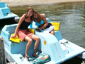 Paddle Boats at Cragun's Resort