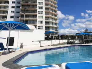 Outdoor pool at Mandolin Resort.