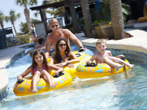 Lazy River at Beach Colony.