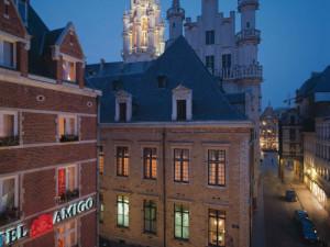 Exterior view of The Hotel Amigo.