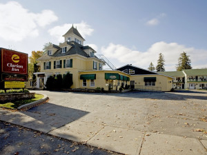 Exterior view of Clarion Inn & Conference Centre.