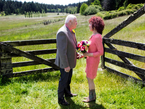 Wedding at Turtleback Farm Inn.