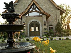 Wedding chapel near Thousand Hills Golf Resort.