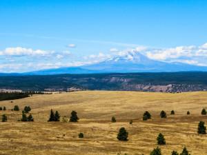 Mountain view at Vacasa Rentals Mt Hood.
