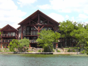 Exterior view of Log Country Cove.