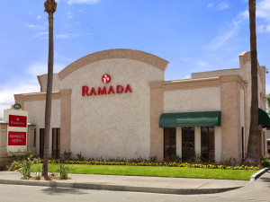 Exterior view of Ramada Limited Main Gate North.