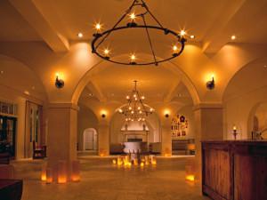 Hotel lobby at Hotel St. Francis.