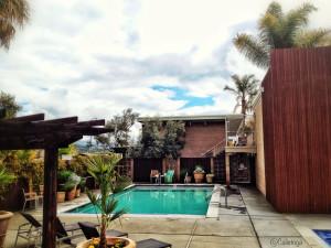 Outdoor pool at Dr. Wilkinson's Hot Springs Resort.