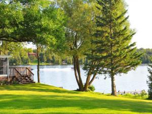 Lake view at Woodland Estate Resort.