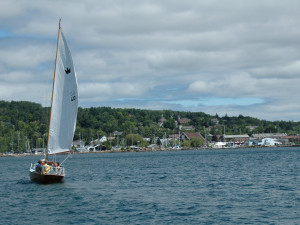 Sailing at Bayfield Best House Rentals.
