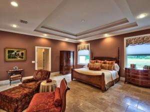 Rental bedroom at Naples Florida Vacation Homes.