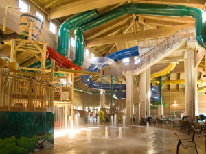 Water park at Holiday Inn Express Brainerd.