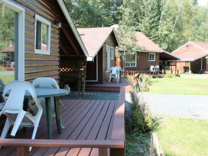 Cabins at Tallpine Lodges.