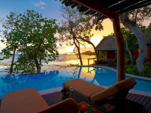 Pool at Namale Resort.