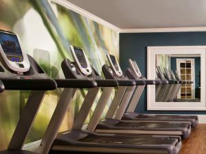 Fitness room at Pier House Resort & Spa.