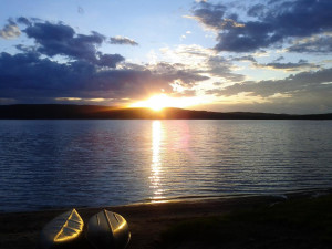 The Lake at Sand Lake Cottages & Inn