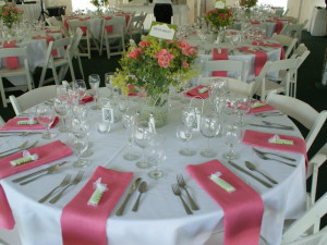 Wedding Table at Echo Lake Inn