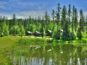 Glacier Outdoor Center has 4 stocked trout ponds for our guests to fish in for free. No fishing license is required. We have fishing rods for rent right at Glacier Outdoor Center.