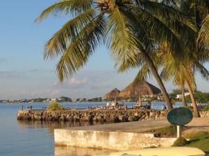 The beach at Coconut Bay Resort Key Largo.