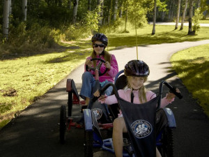 Go-Karts at Black Butte Ranch.