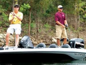 Fishing at Eddy Creek Marina Resort