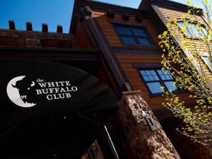 Exterior view of White Buffalo Club.