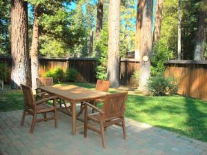 Rental Patio at Tahoe Tavern Properties