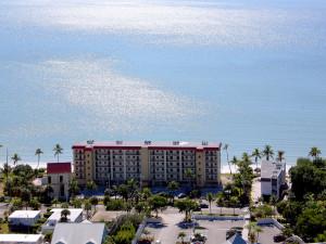 Aerial view of Seaside An All-Suite Resort.