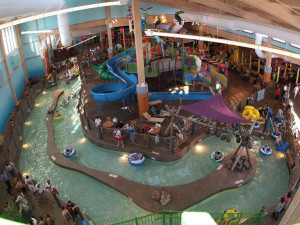 Indoor water park at CoCo Key Water Resort.