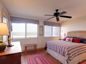 Rental bedroom at Perdido Key Resort Management.