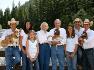 Family reunions at Harmels Ranch Resort.