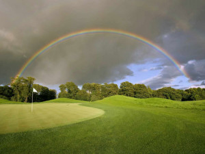 Golf course near The Hollies.