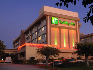Exterior view of Holiday Inn SFO Airport North Hotel.