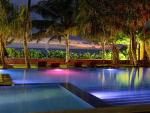 Outdoor pool at Weligama Bay Resort.