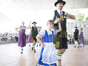 German festival at The Knickerbocker On The Lake.