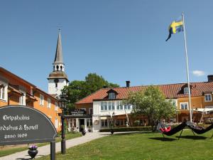 Exterior view of Gripsholms Värdshus & Hotel.
