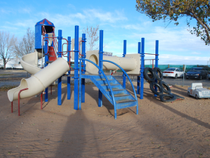 Children's playground at American RV Park.