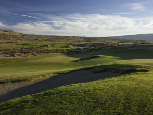 Golf course at Sun Mountain Lodge.