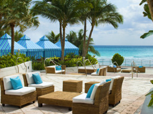 Outdoor Lounge at The Westin Diplomat Resort