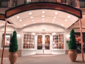 Exterior view of Prescott Hotel.