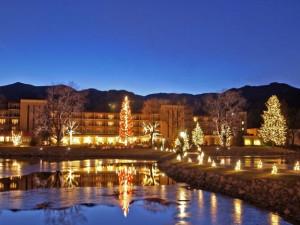 Exterior view of The Broadmoor.
