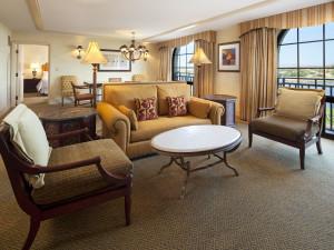 Guest suite at The Westin Lake Las Vegas Resort & Spa.