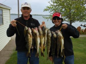 Fishing at Pocahontas Resort.
