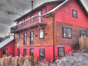 Vacation rental exterior at SkyRun Vacation Rentals - Nederland, Colorado.