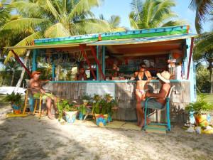 Tiki Bar at Tamarind Reef Resort