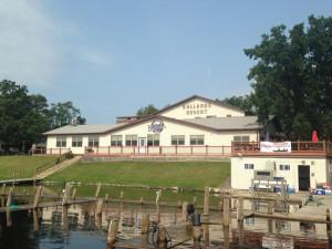 Ballard's Resort main lodge at Ballard's Resort.