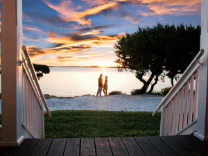Couple at Hawks Cay Resort.