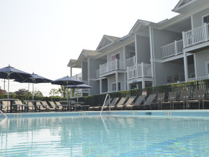 Pool Area at The Oceanfront Inn