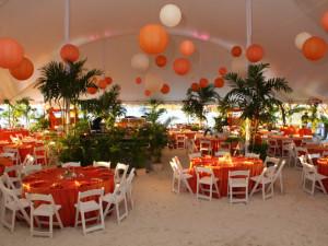Wedding reception at Sirata Beach Resort.