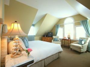 Deluxe room at The Beach House Inn.